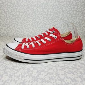 Converse Red Classic All Star Low Top